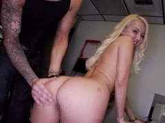 Adorable blonde Aaliyah Love has awesome interview