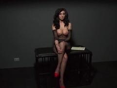 Crazy pornstar in Hottest Brunette, BDSM porn video