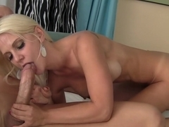 Incredible pornstar Caroline De Jaie in amazing big tits, blonde sex scene