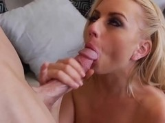 Johnny Sins gets sucked by petite blonde Lexi Belle