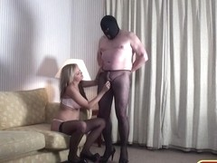 German grandpa plays X dressing fetish Anal Petite