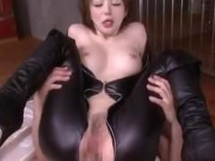 Yuria Satomi gets nailed hard and long