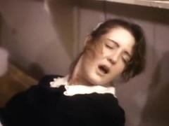 Classic xxx movie scene featuring a hot waitress