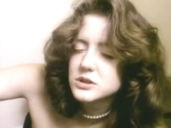 Incredibly hawt classic porn scene in a shitter stall