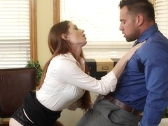 Veronica Vain & Johnny Castle in Naughty Office