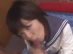 Incredible Japanese whore Ami Hanamiya in Crazy Girlfriend, Blowjob JAV video