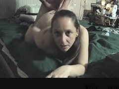 Amazing homemade creampie, latina, quickie porn movie
