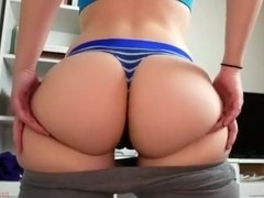 Amateur brunette czech does a striptease