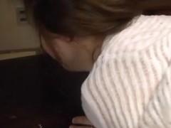 Yurie Matsushima mature and horny Asian babe enjoys group sex