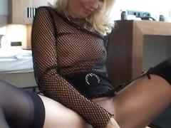 Hot milf sucks my dick and fucks