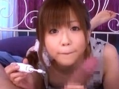 Exotic Japanese girl Saki Ninomiya in Amazing POV JAV video