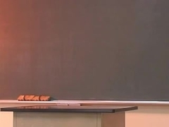 Sexual Japanese lesbo teacher seduces her teenage student