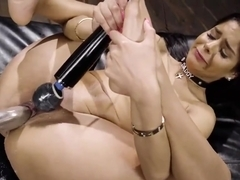 Non Stop Squirting and Sybian Ride
