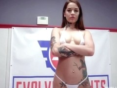 Vanessa Vega, Naked Wrestling, Banged Hard By Jason Michaels