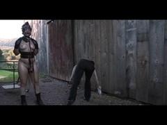 Ponyslave Pervert SADOMASOCHISM Outdoor Training