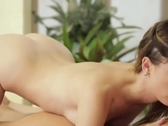 Busty Masseuse Angela White Pleasuring With Kristen Scott