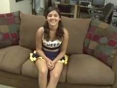 Anal Workout For Lalin Girl Cheerleader