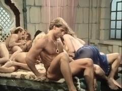 Kristara Barrington, Susan Berlin, Bunny Bleu in vintage sex video