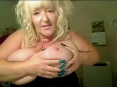 BlondeBustyUk British Older With Huge Marangos Live Webcam