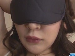 Busty milf, Hinata Komine, gets toys up her tight holes