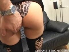 CreampieEbony Video: Jayda Starr