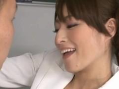 Karen Kisaragi Japanese MILF is a hot teacher