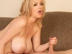 Katie Cox Gives Hot Handjob