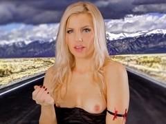 Ashley Fires in Hyno Cocksucker Video