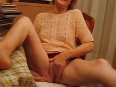 I'm fingering myself in my sexy solo amateur video