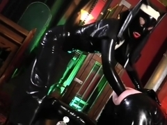 Cybill Troy: Extreme Rubber Nun DOUBLE FISTING