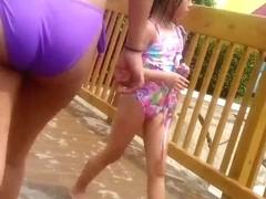 water park bikini booty 13