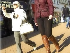 Leggings candid street 3