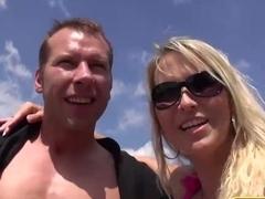 Horny pornstar Julia Pink in Crazy Threesomes, MILF porn video