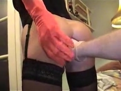 Exotic Homemade Shemale record with Big Asses, Lingerie scenes