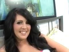 Horny pornstar Skyla Paige in hottest dildos/toys, squirting porn clip