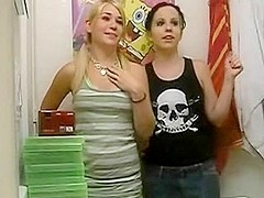 2 silly bitches on web camera
