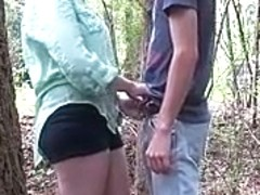 Fuck in the woods part 1