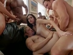 Free wife gang bang movie