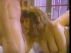 Christy Canyon in a sexy FMM scene