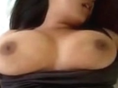 Huge tits demonstrated by Indian chick in private video