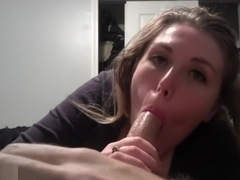 Blonde Loves To Suck Dick