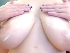 Ass, tits and pussy in webcam