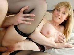 Nina Hartley in Mature Hardcore Video