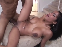 Busty Cuban Gets Ass Fucked