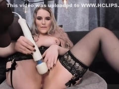 Squirt with Hitachi Magic Wand - first 6 minutes