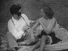 Retro Porn Archive Video: Very old porn film