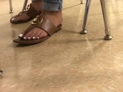 Houstonsfinestvids latina candid feet at school