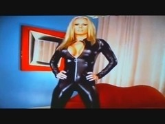 Mastix Ashley in catsuit