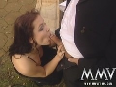 MMVFilms Video: Blowjob At The Reception