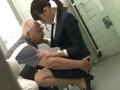 Japanese Grandpa having fun with young girls part 1